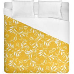 Fancy Floral Pattern Duvet Cover (king Size)
