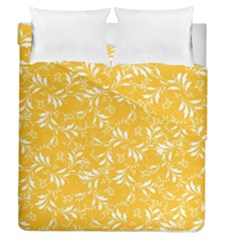 Fancy Floral Pattern Duvet Cover Double Side (queen Size)