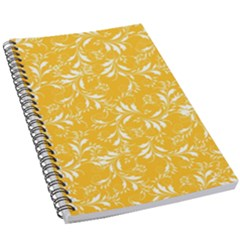 Fancy Floral Pattern 5 5  X 8 5  Notebook