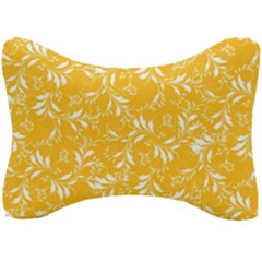 Fancy Floral Pattern Seat Head Rest Cushion