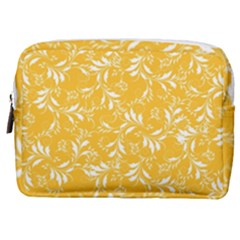 Fancy Floral Pattern Make Up Pouch (medium)