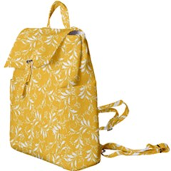 Fancy Floral Pattern Buckle Everyday Backpack