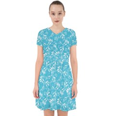 Fancy Floral Pattern Adorable In Chiffon Dress