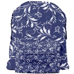 Fancy Floral Pattern Giant Full Print Backpack