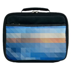 Static Graphic Geometric Lunch Bag