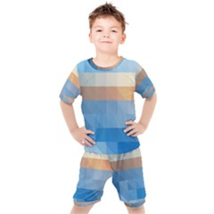 Static Graphic Geometric Kid s Set by AnjaniArt
