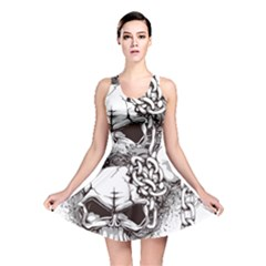 Skull And Crossbones Reversible Skater Dress