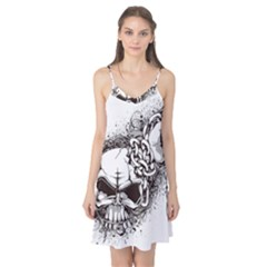 Skull And Crossbones Camis Nightgown