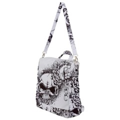 Skull And Crossbones Crossbody Backpack