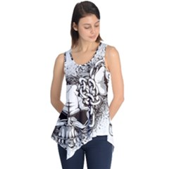 Skull And Crossbones Sleeveless Tunic
