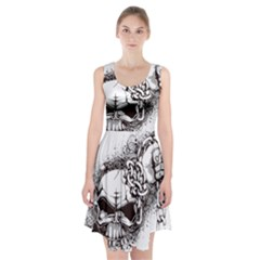 Skull And Crossbones Racerback Midi Dress