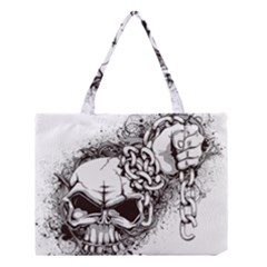 Skull And Crossbones Medium Tote Bag