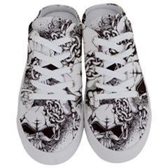 Skull And Crossbones Half Slippers