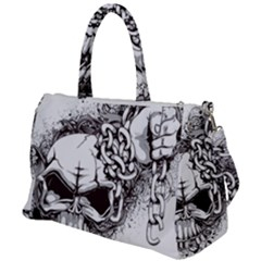 Skull And Crossbones Duffel Travel Bag by Alisyart
