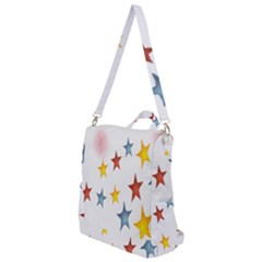 Star Rainbow Crossbody Backpack