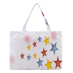 Star Rainbow Medium Tote Bag