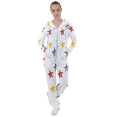 Star Rainbow Women s Tracksuit