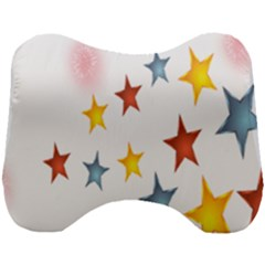 Star Rainbow Head Support Cushion