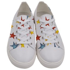 Star Rainbow Women s Low Top Canvas Sneakers