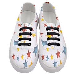Star Rainbow Women s Classic Low Top Sneakers