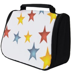 Star Rainbow Full Print Travel Pouch (big)