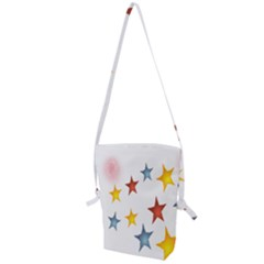 Star Rainbow Folding Shoulder Bag