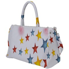 Star Rainbow Duffel Travel Bag
