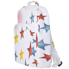 Star Rainbow Double Compartment Backpack