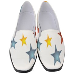 Star Rainbow Women s Classic Loafer Heels