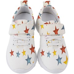 Star Rainbow Kids  Velcro Strap Shoes by Alisyart