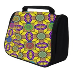 Tile Background Geometric Full Print Travel Pouch (small) by Jojostore