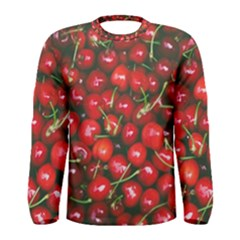 Cherries Jubilee Men s Long Sleeve Tee