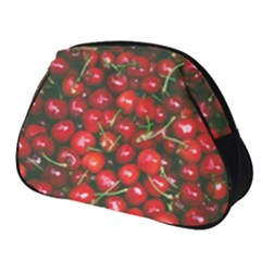Cherries Jubilee Full Print Accessory Pouch (small) by WensdaiAddamns