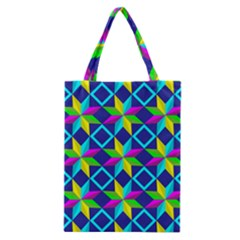 Pattern Star Abstract Background Classic Tote Bag
