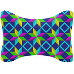 Pattern Star Abstract Background Seat Head Rest Cushion