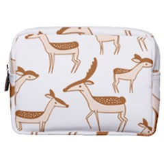 Seamless Deer Pattern Design Make Up Pouch (medium)