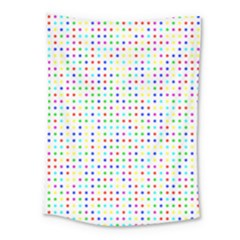 Dots Color Rows Columns Background Medium Tapestry