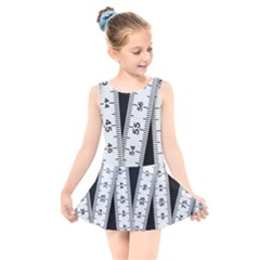 Build Bers Scale Craft Length Kids  Skater Dress Swimsuit