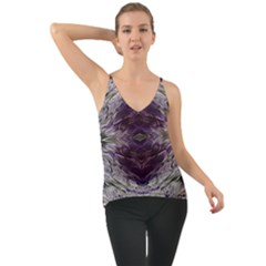 Pattern Abstract Horizontal Chiffon Cami by Pakrebo
