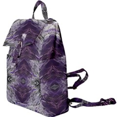 Pattern Abstract Horizontal Buckle Everyday Backpack