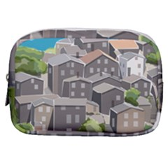 Village Place Portugal Landscape Make Up Pouch (small)
