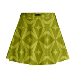 Wallpaper Geometric Mini Flare Skirt by Jojostore