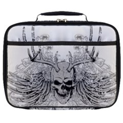 Skull Vector Full Print Lunch Bag