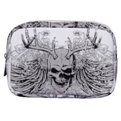 Skull Vector Make Up Pouch (small)