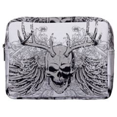 Skull Vector Make Up Pouch (large)