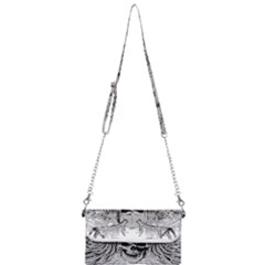Skull Vector Mini Crossbody Handbag
