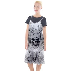 Skull Vector Camis Fishtail Dress