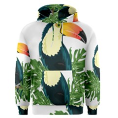 Tropical Birds Men s Pullover Hoodie