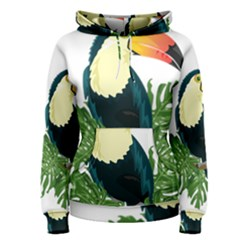 Tropical Birds Women s Pullover Hoodie
