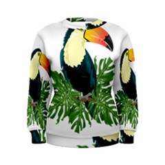 Tropical Birds Women s Sweatshirt